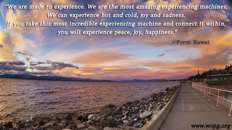 rocky,beach,sunset,Prem Rawat,quote