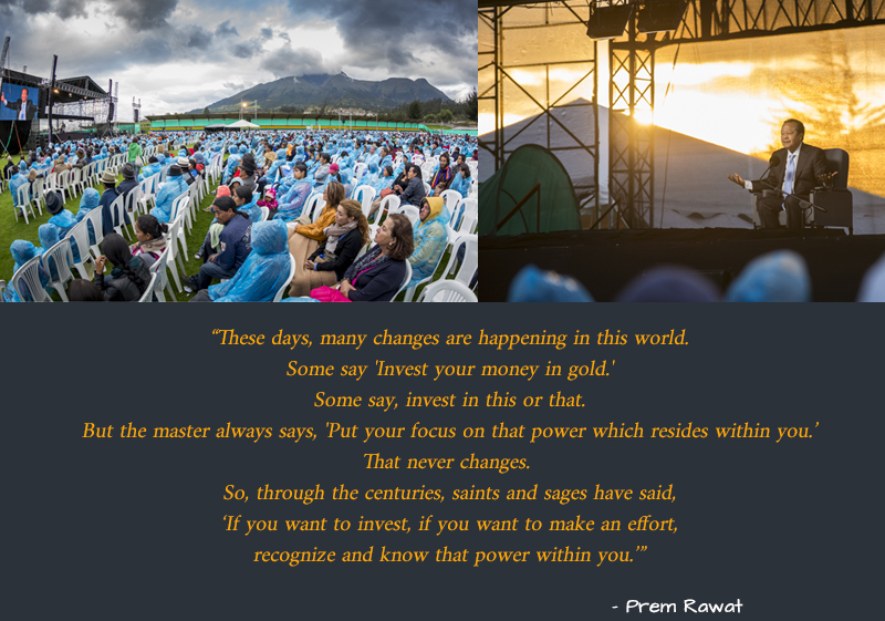 open air,event,amphitheatre,Prem Rawat,quote