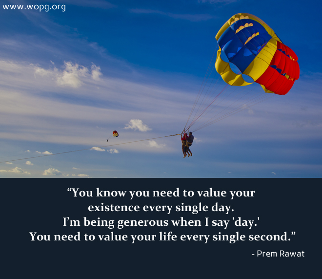 paragliding,Prem Rawat,quote