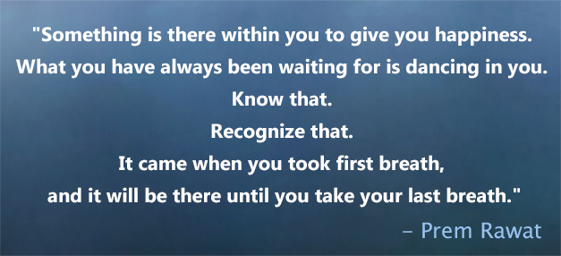 blue gradience,Prem Rawat,quote