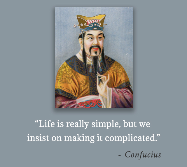 carricature,Confucius,quote