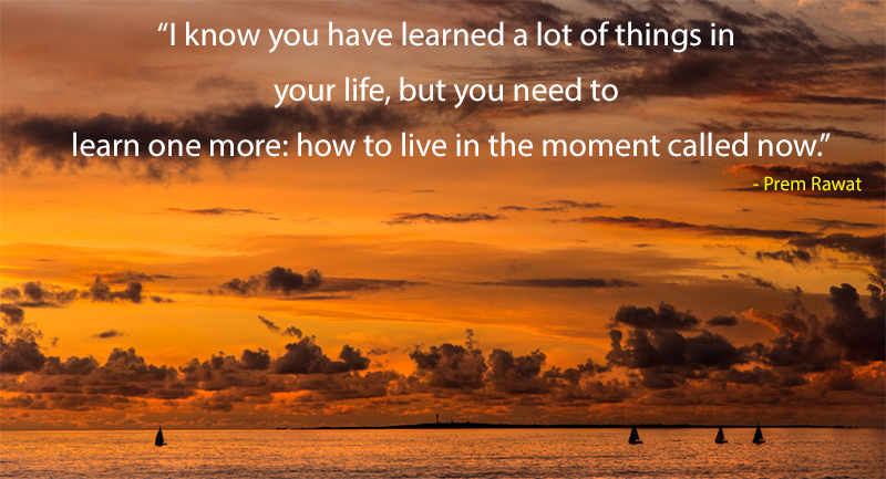 sunset sky,Prem Rawat,quote