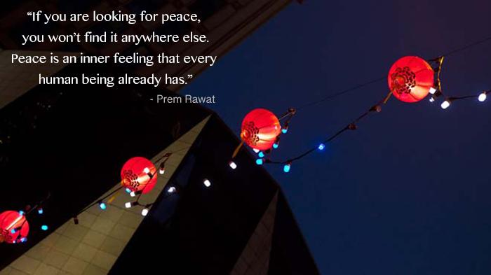 lantern,night sky,Prem Rawat,quote
