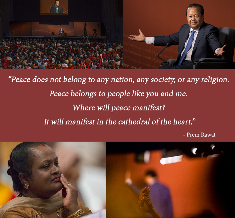 wopg event,audience,Prem Rawat,quote