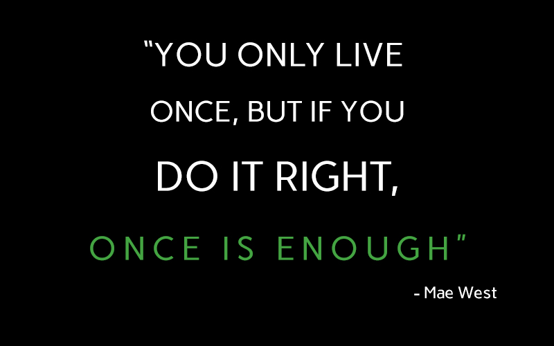black,Mae West,quote