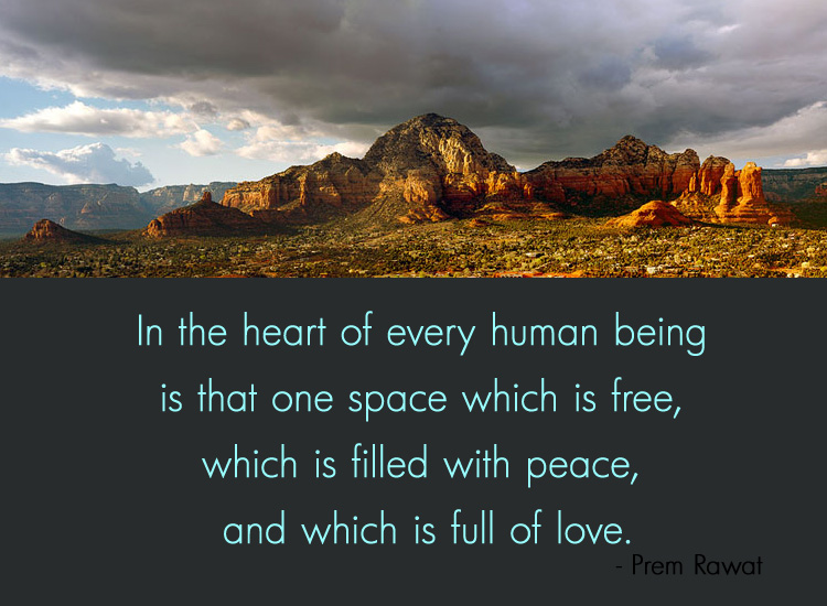 mountain,clouds,Prem Rawat,quote