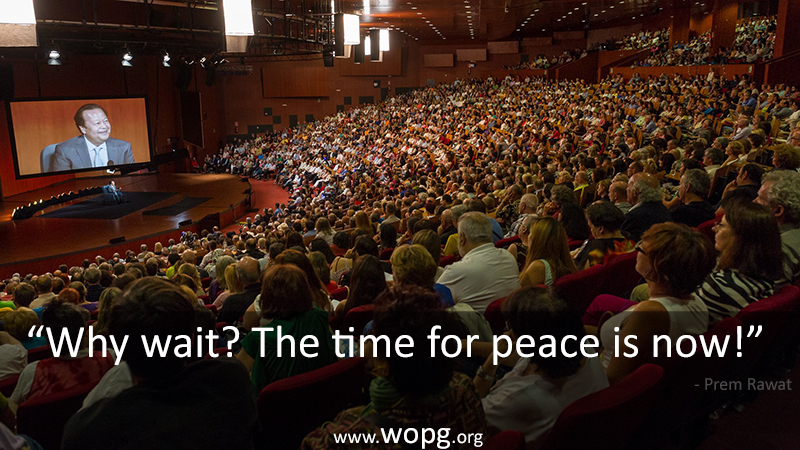 wopg,auditorium,Prem Rawat,quote