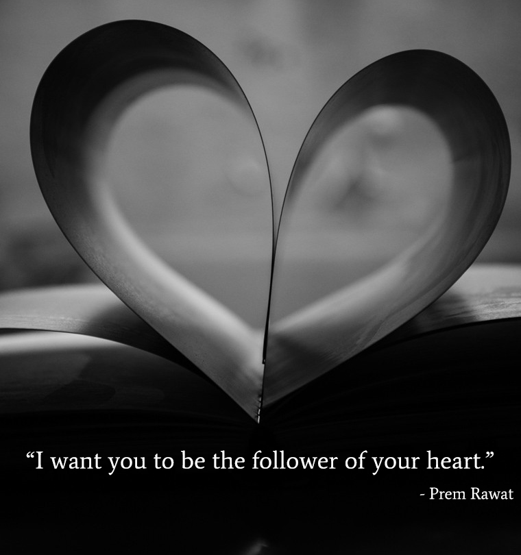 book,heart,Prem Rawat,quote