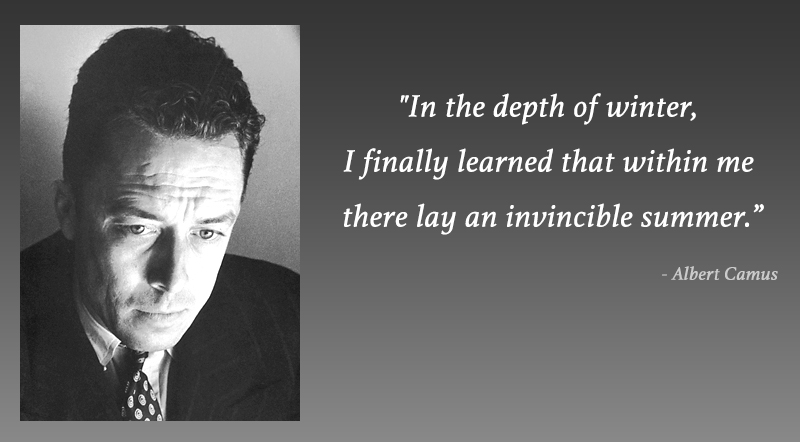 portrait,Albert Camus,quote