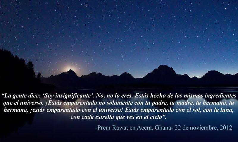 Prem Rawat en Accra, Ghana- 22 de noviembre, 2012,quote