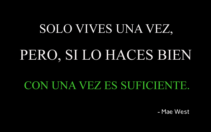 Mae West,quote