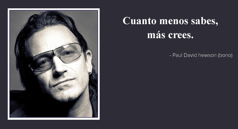 Paul David Hewson (Bono),quote
