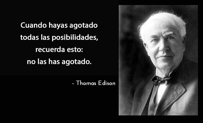Thomas Edison,quote