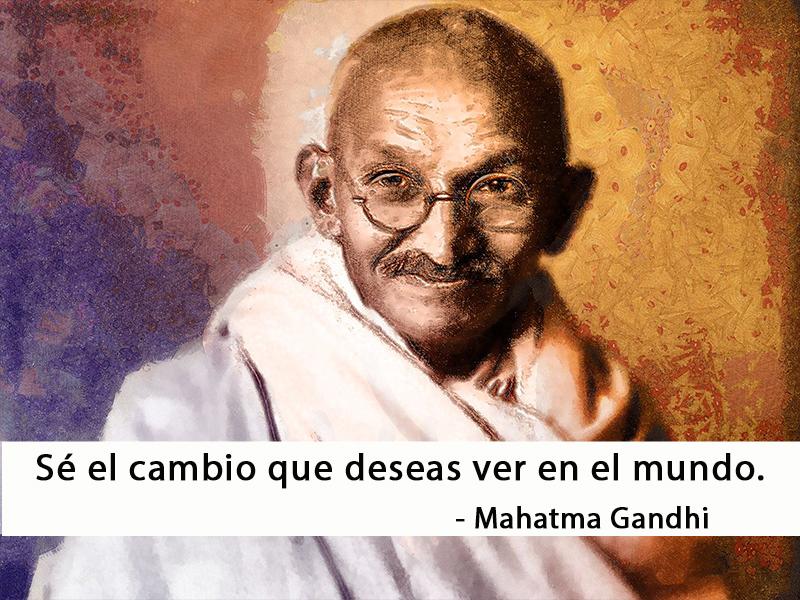 Mahatma Gandhi,quote
