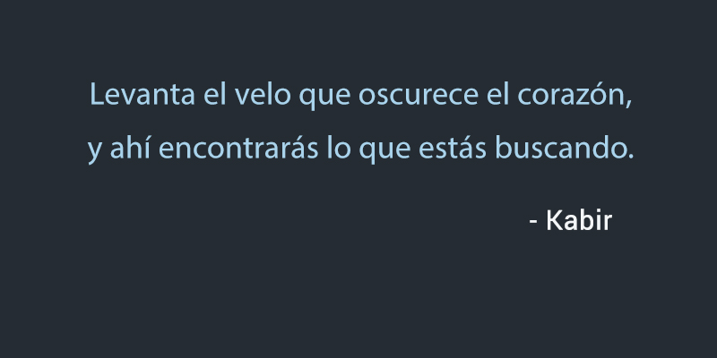 - Kabir,quote