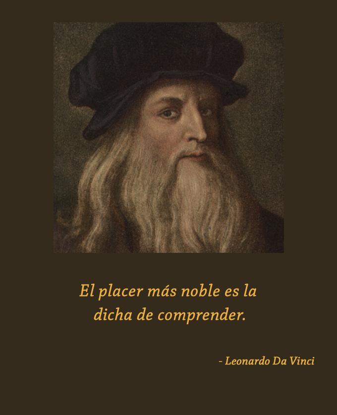 Leonardo Da Vinci,quote
