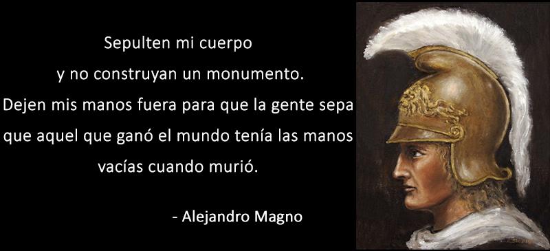Alejandro Magno,quote
