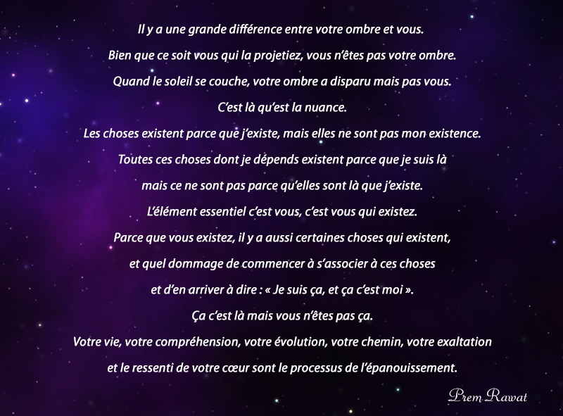 night, stars,Prem Rawat,quote