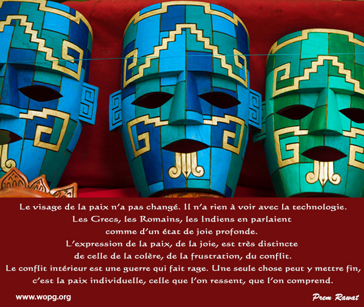 masks,Prem Rawat,quote