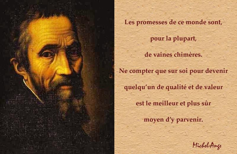 Michel-Ange,Michel-Ange,quote