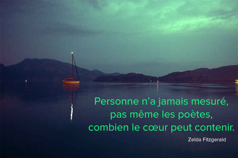 see, boat, night,Zelda Fitzgerald,quote