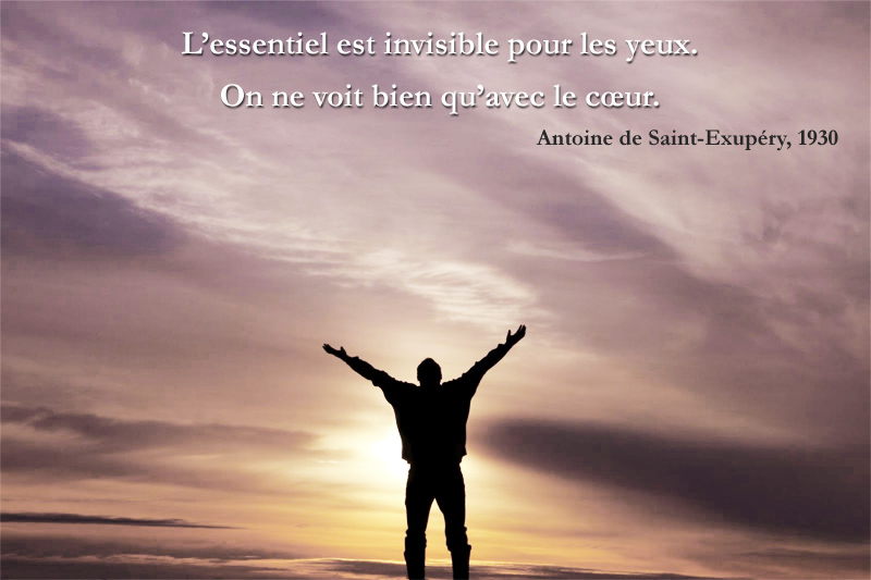 Antoine de Saint-Exupéry, 1930,quote