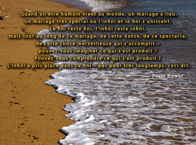 rivage, mer,Prem Rawat,quote