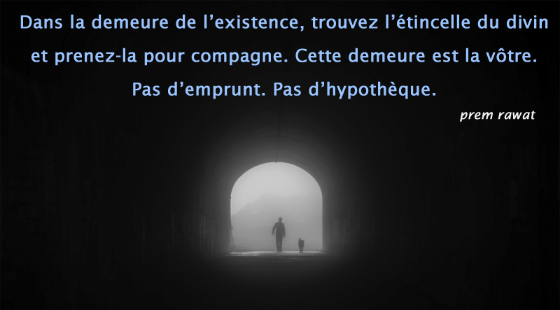 tunnel, light, obscurity,Prem Rawat,quote