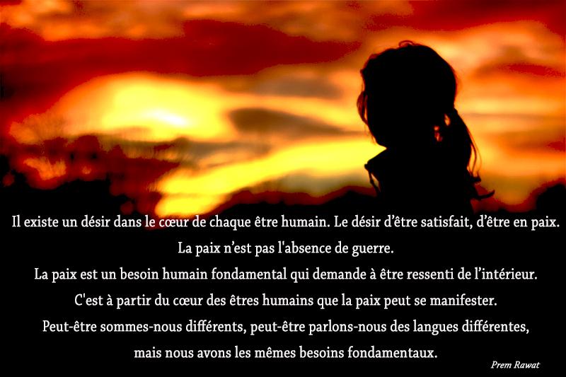 sunset, woman,Prem Rawat,quote