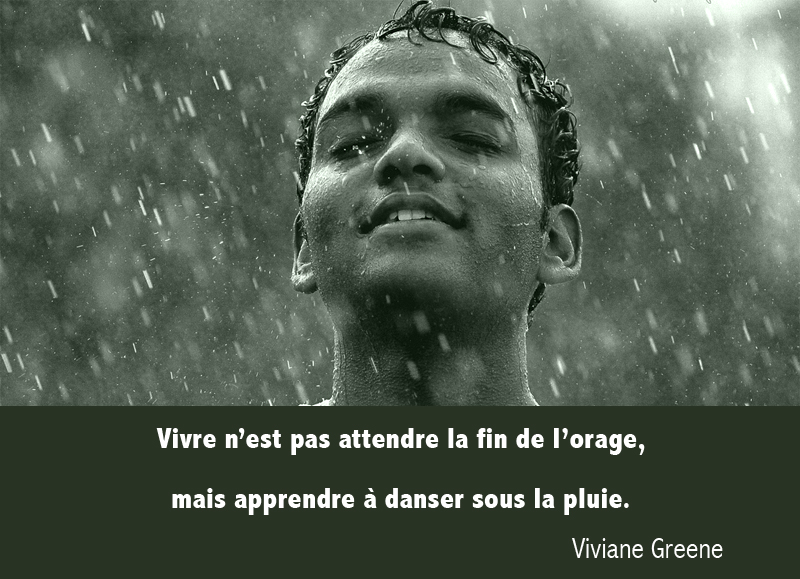 rain, face,Viviane Greene,quote