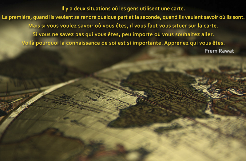 map of the world,Prem Rawat,quote