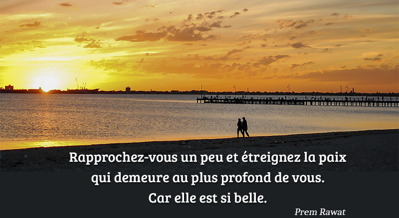 sunset, beach,Prem Rawat,quote