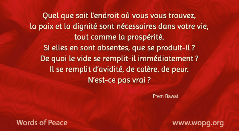 fabric,Prem Rawat,quote