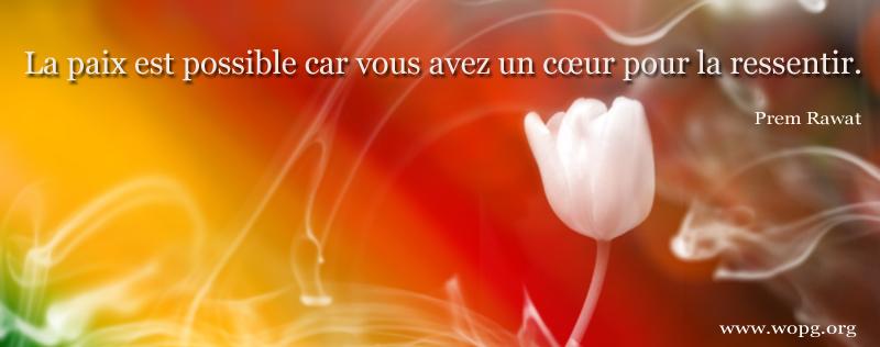couleurs, fleur,Prem Rawat,quote