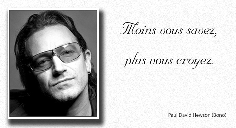 face,Paul David Hewson (Bono),quote