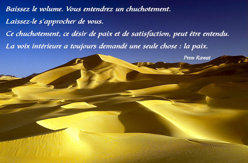 desert,Prem Rawat,quote