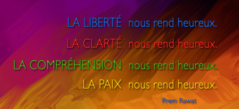 fond coloré,Prem Rawat,quote