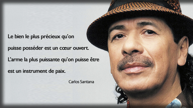 portrait,Carlos Santana,quote