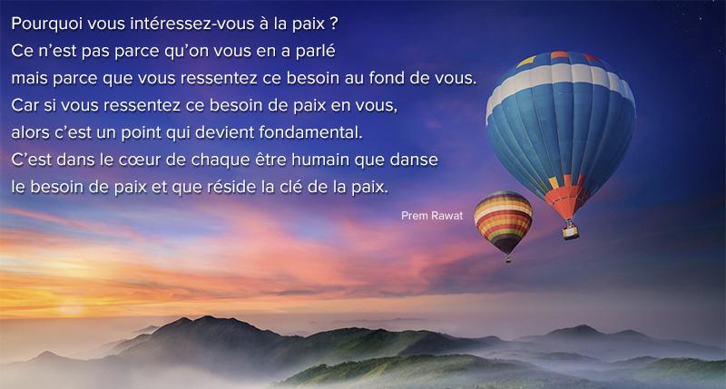 baloons,Prem Rawat,quote