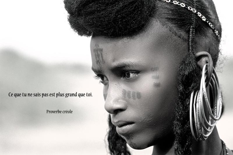 portrait,Proverbe créole,quote
