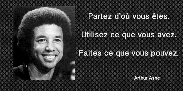 portrait,Arthur Ashe,quote