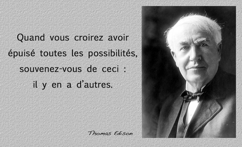 portrait,Thomas Edison,quote
