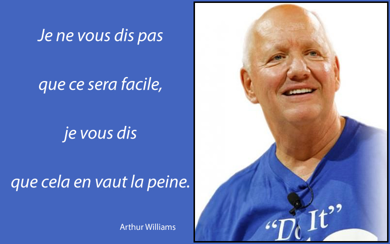 portrait,Arthur Williams,quote