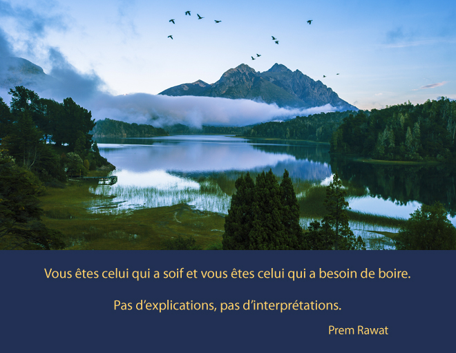 lake, clouds,Prem Rawat,quote