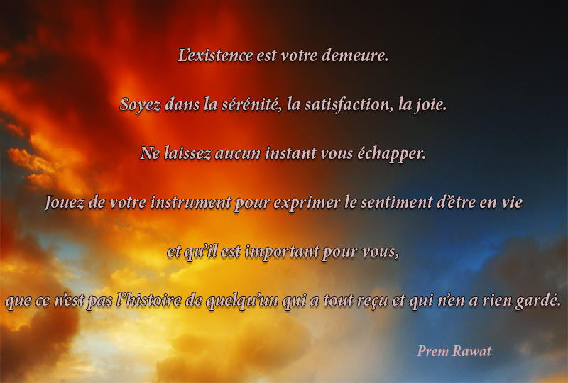 clouds,Prem Rawat,quote
